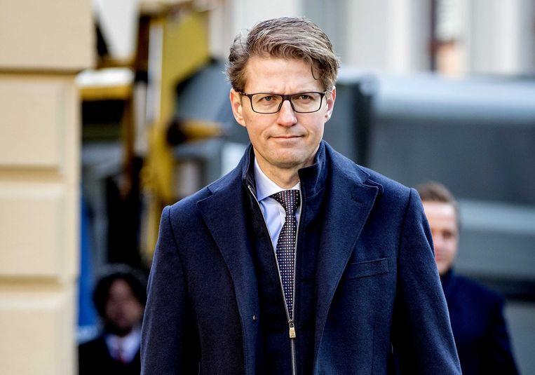 Sander Dekker, minister voor rechtsbescherming. Beeld ANP, Koen van Weel