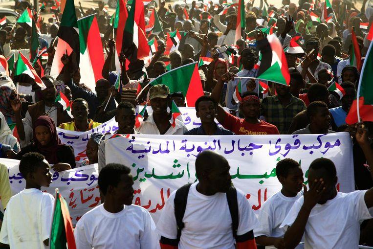 Het is vaak onrustig in Soedan Beeld ANP