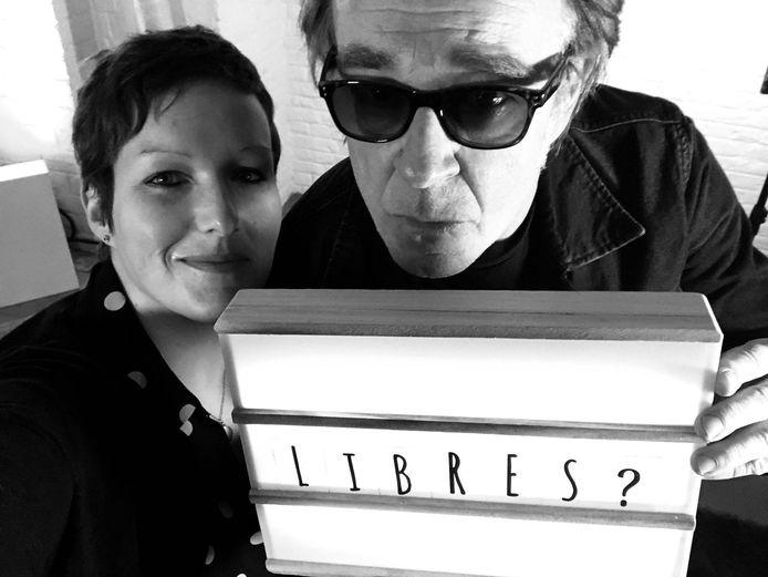 Céline Charlier et Didier Gesquière du Plus Petit Théâtre du Monde à Pont-à-Celles