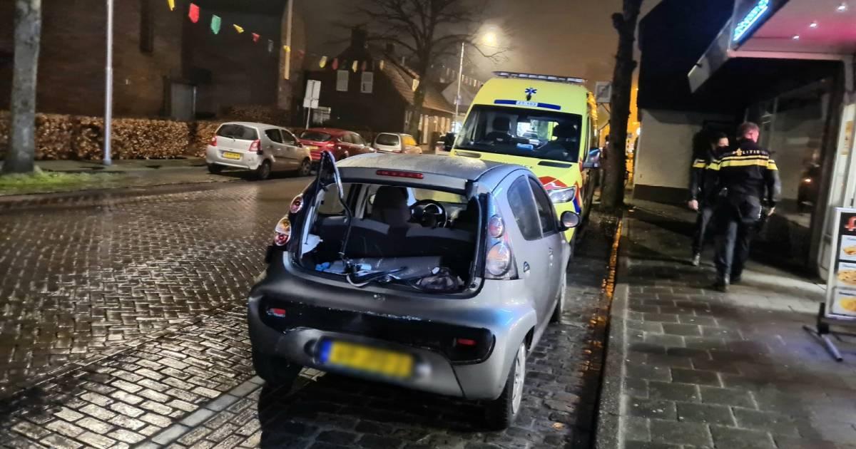 Drie autos beschadigd bij botsing in Vlijmen.
