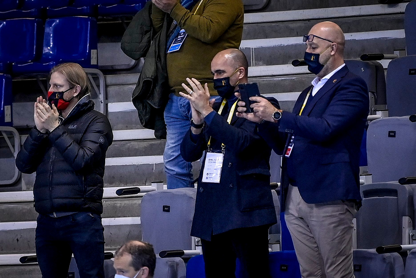 Roberto Martinez zag de Rode Duivels Futsal stunten tegen Italië.