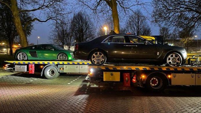 Bij controles werden ook auto's in beslaggenomen.