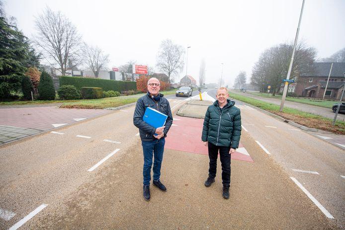 Nico Dijkman (59) rechts op de foto.