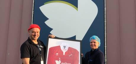 Esbro voetbalt met multiculti bedrijfsteam bij Concordia Wehl