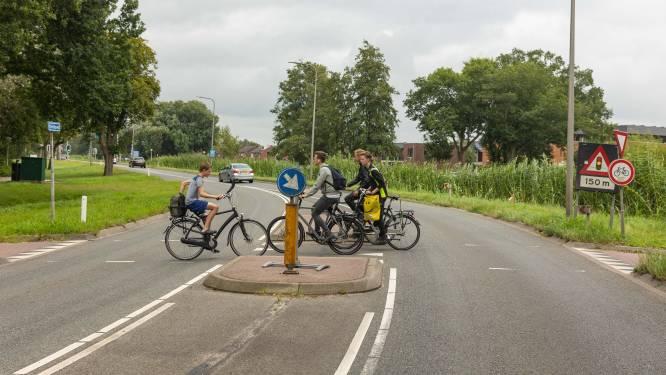 Veiliger met je fiets de Vaartweg in Hasselt oversteken