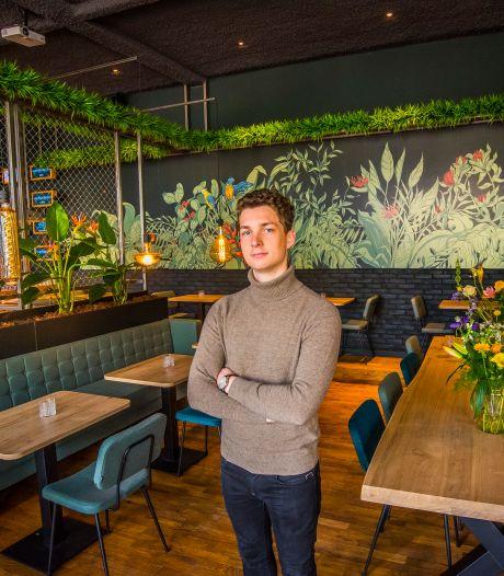 Thijs Bannink (23) begint midden in coronatijd restaurant  in Enschede: 'Ik vind het doodeng'