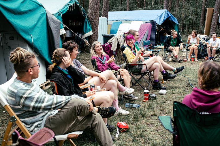 Scoutskamp Beeld Tine Schoemaker