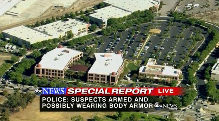 Het Inland Regional Center in San Bernardino Beeld Screenshot