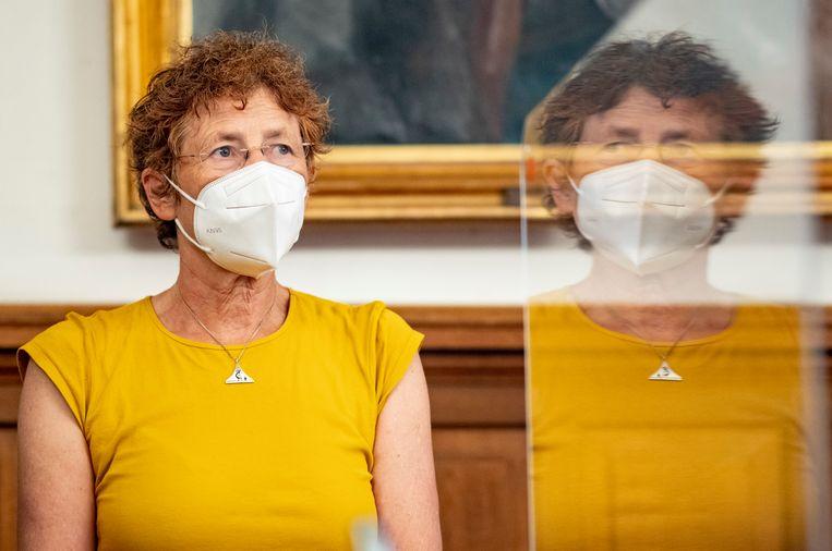 Arts Kristina Hänel: 'Je spreekt niet over abortus aan de universiteit, je onderwijst er niet in, want iedereen is bang om aangeklaagd te worden'.  Beeld Hollandse Hoogte / dpa Picture-Alliance