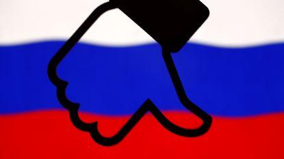 Facebook wist accounts gelinkt aan Russische staatsmedia
