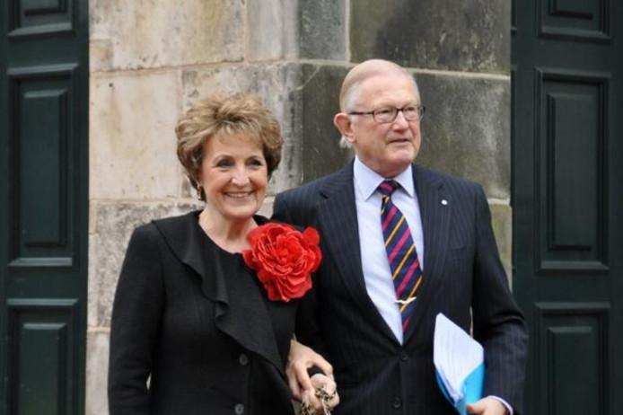 Prinses Margriet en Prof. mr. Pieter van Vollenhoven