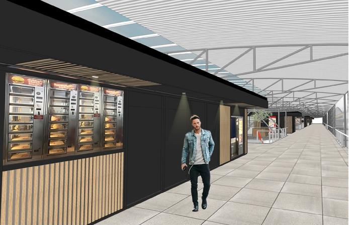 Nieuw uiterlijk voor de winkels op station Den Bosch