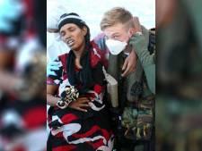 Marine redt opnieuw 248 vluchtelingen uit zee