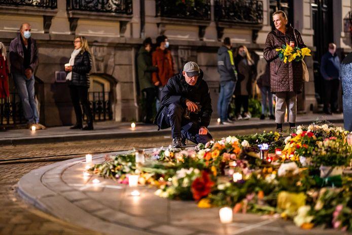 Herdenking voor de 73 jarige Jan die in het Arnhemse Spijkerkwartier om kwam.