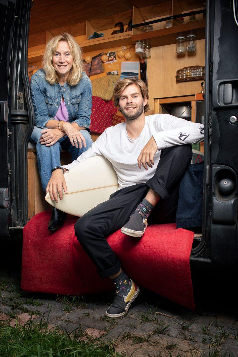 Mieke & Daan. Beeld Harmen de Jong
