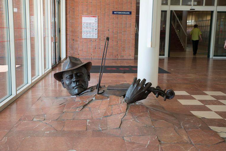 Standbeeld De Violist Beeld Charlotte Odijk