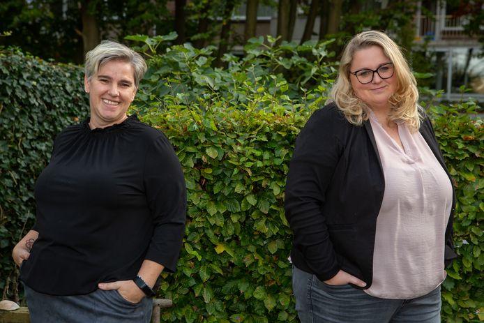 Pepita van de Laak (links) en Karin Dijkstra zijn de twee buurtpedagogen in Oud-Vossemeer en Sint-Maartensdijk.