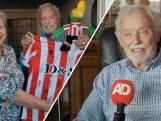 """Meer dan 80 jaar fan Sparta: 'Op tribune voel ik me geen 91"""""""