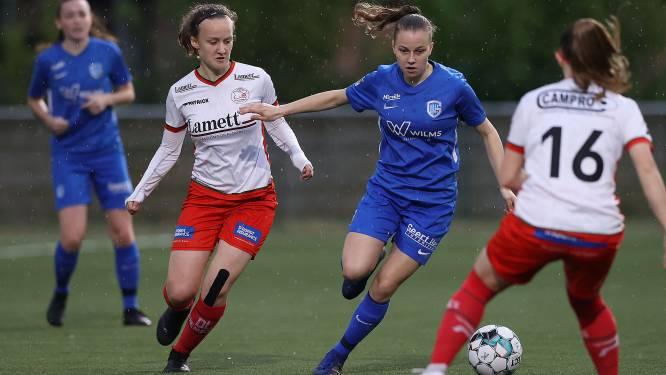 KRC Genk Ladies wint belangrijk duel tegen Zulte Waregem en neemt de leiding over in play-off 2