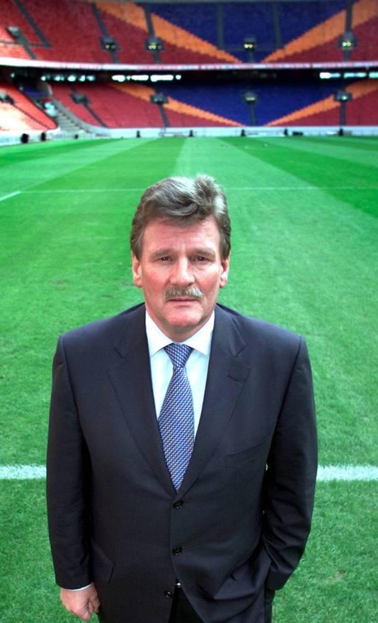 Arie van Eijden in 2001.