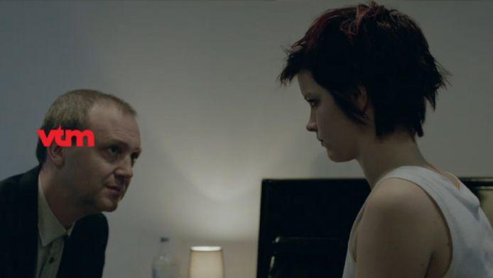 Een scène uit de nieuwe VTM-reeks Ontspoord.