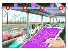 Zelfvarende pontjes en meedenkende verkeerslichten: reist Nanita in 2035 zo door Zeeland?