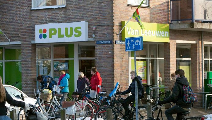 De Plus-winkel bij de Dijkhoornseweg in Den Hoorn.