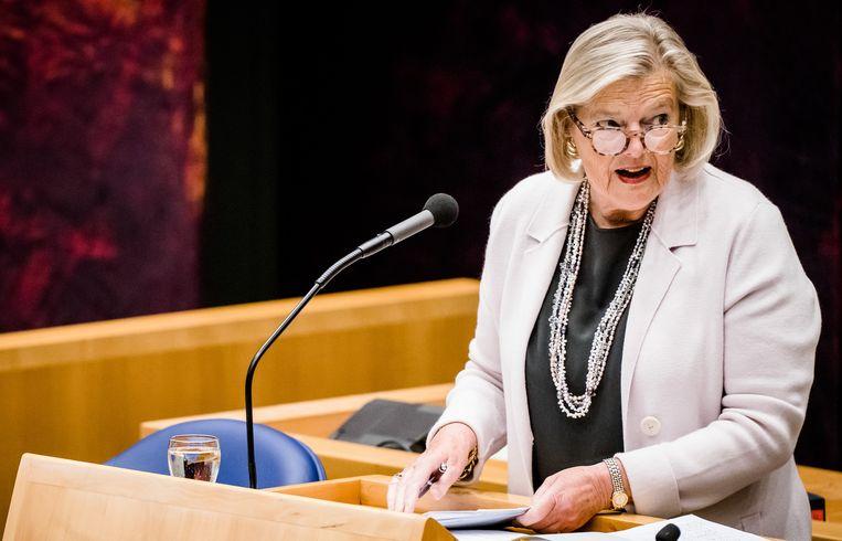 Staatssecretaris Ankie Broekers van Justitie en Veiligheid. Beeld Hollandse Hoogte /  ANP