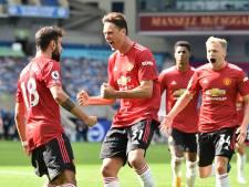Manchester United arrache la victoire à Brighton après une fin de match folle