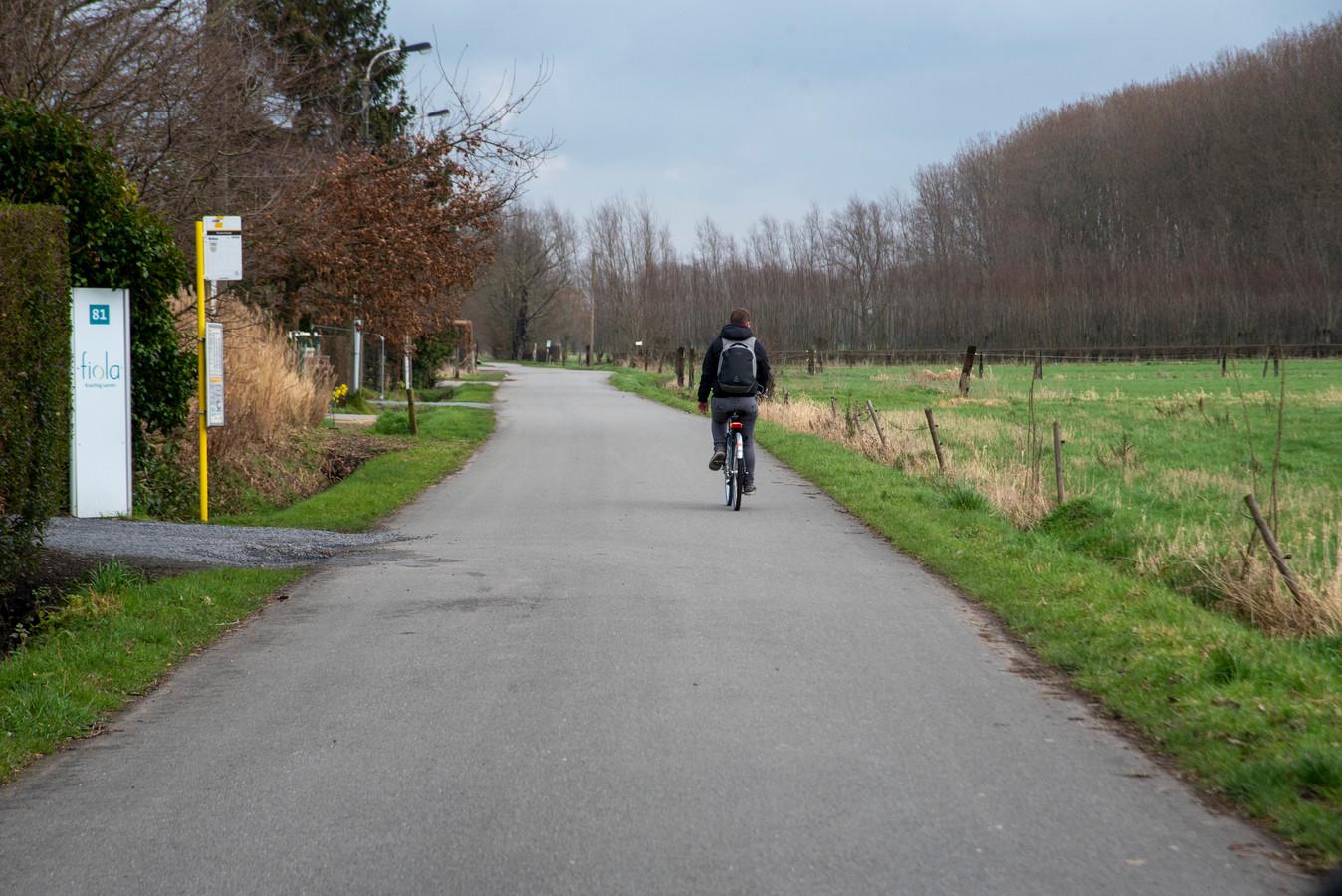 De Kasterstraat in Wetteren Overschelde.