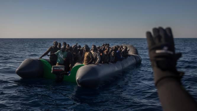 Ruim 2.000 migranten gered voor Libische kust
