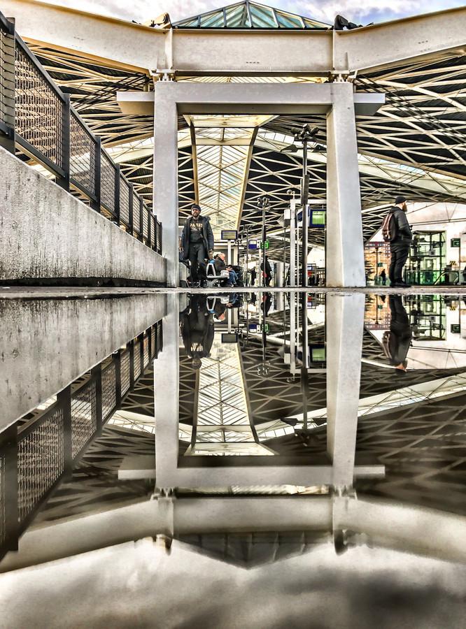 Dak van station Tilburg