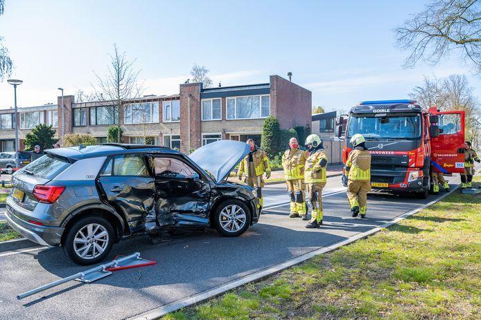 Ongeluk op de kruising van de Hoogeindseweg en de Eikenlaan in Goirle