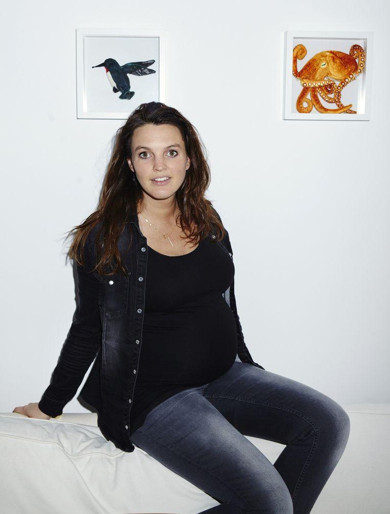 Vera (32), uitgerekend op 7 juni. Beeld Jolijn Snijders