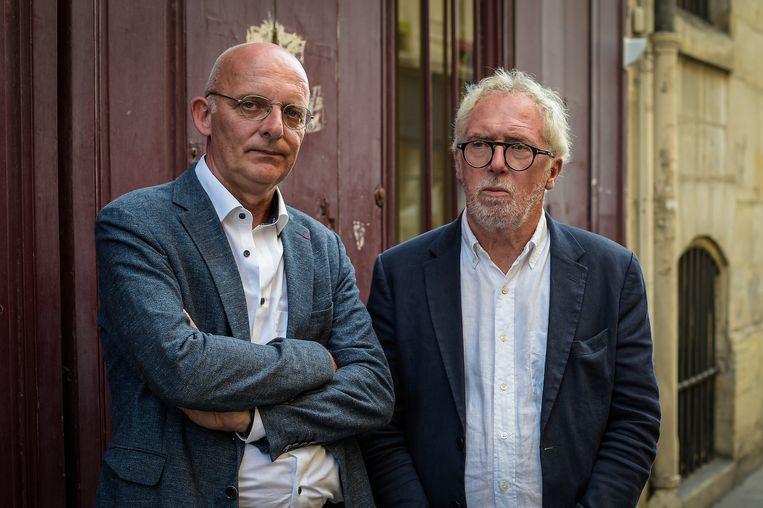 Philippe Vansteenkiste (links): ''s Avonds werd in het journaal gemeld dat mijn zus bij de doden was, terwijl wij niets wisten. Afschuwelijk.' Beeld Federico Pestellini / Panoramic