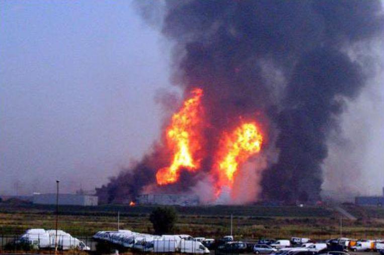 De gasramp kostte het leven aan 24 slachtoffers. Beeld UNKNOWN