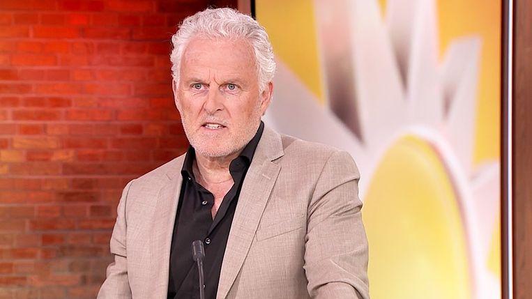 Peter R. de Vries bij RTL Boulevard. Beeld RTL