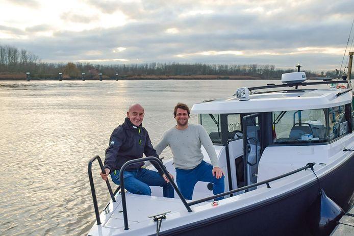 Philippe Ophoff en zijn vennoot Klaas De Hert willen nog dit voorjaar starten met een watertaxidienst.