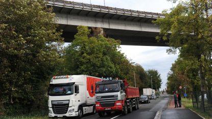 Burgemeester laat vrachtwagens aan de ketting leggen, maar chauffeurs rijden doodleuk weer weg