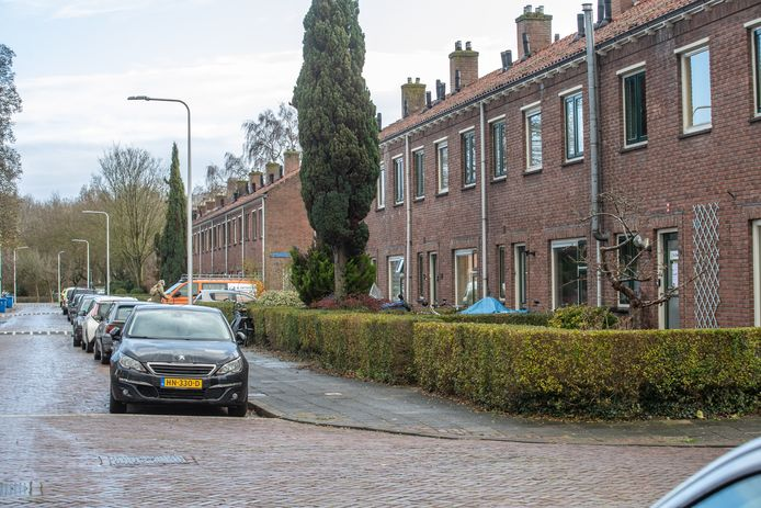 De woningoverval vond plaats in de Willem Barentszstraat in Zwolle.