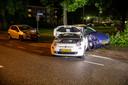Ravage op de weg in Roosendaal.