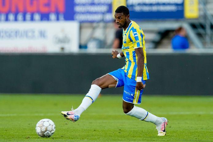 Saïd Bakari in het shirt van zijn club RKC Waalwijk.