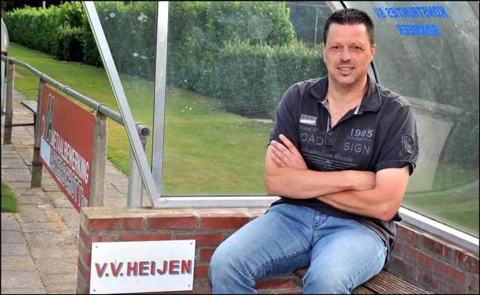 John Janssen bij VV Heijen.