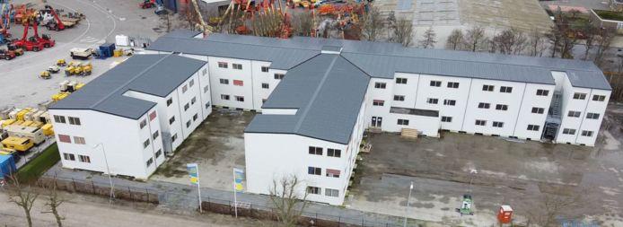 Centrale huisvesting voor arbeidsmigranten op het voormalig Philips-terrein in Terneuzen.
