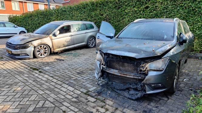 Politie druk met 'complex' onderzoek naar 20 autobranden in één nacht in Ede, nog geen arrestaties