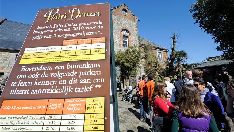 Pairi Daiza, foto uit 2010. Beeld PHOTO_NEWS