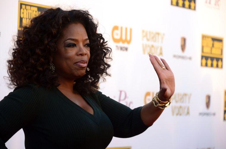 Oprah Winfrey. Geschat vermogen: 2,7 miljard. Beeld AFP