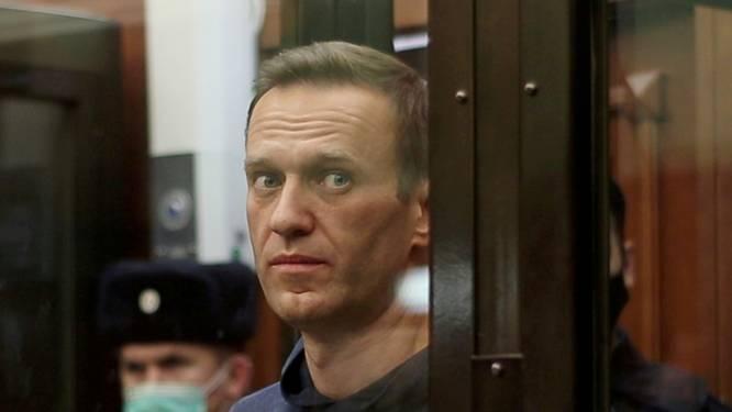 Navalny overgebracht naar strafkamp voor celstraf van 2,5 jaar