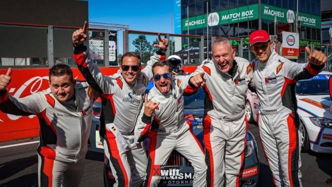 Blitse start: Dominique Willems en Andy Peelman winnen meteen '24 uur van Zolder'