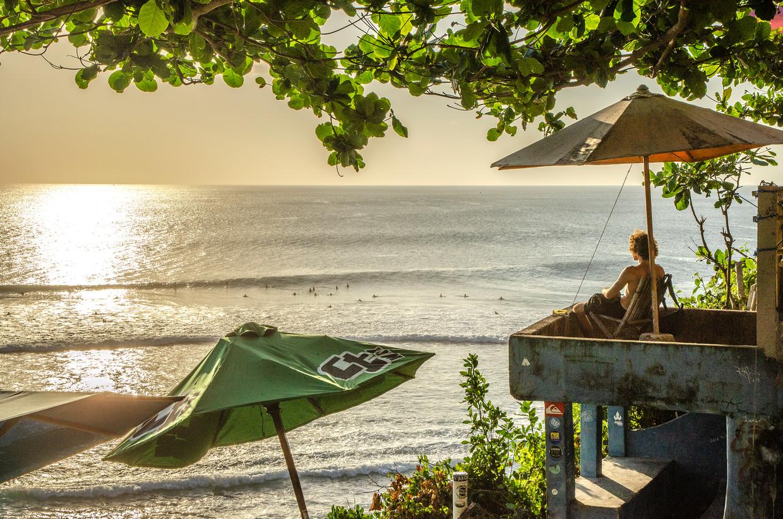 Vrijheid, blijheid en af en toe een mooie zonsondergang: de essentie van een mooie reis in je eentje.  Beeld Sofie Goossens